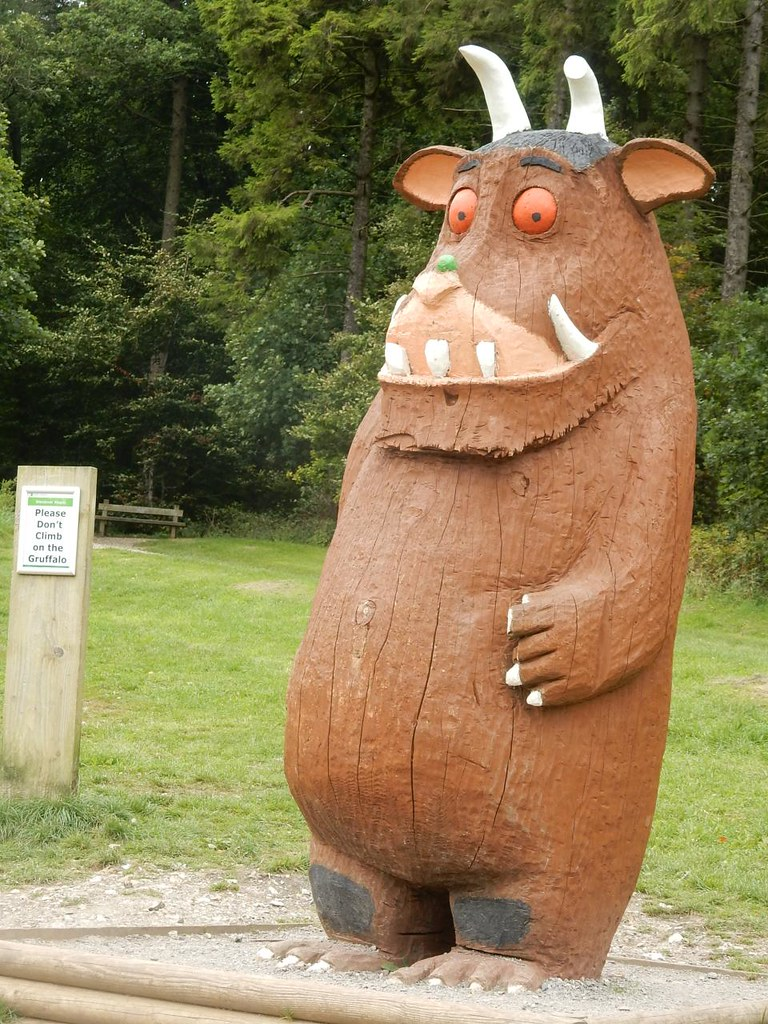 A gruffalo. Spotted near Wendover. Some of our walkers are getting a bit long in the tooth. Wendover Circular via Swan Bottom