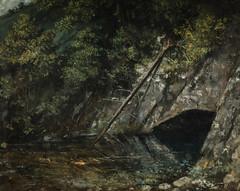 Gustave Courbet - Landscape from La Source Bleue at Nationalmuseum Stockholm Sweden