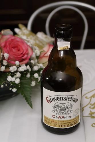 Grevensteiner Bier zum Ausklang des Tages