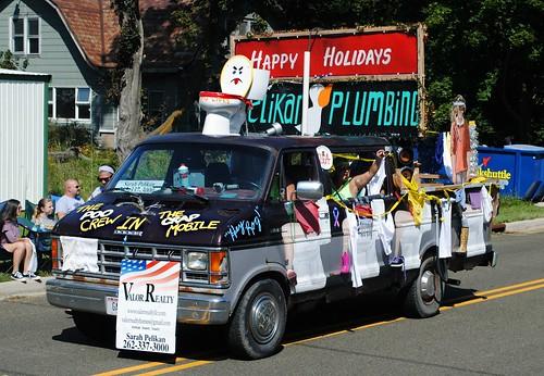 Pelikan Plumbing - Junk Parade - Rome & Sullivan, Wisconsin