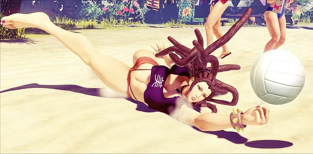 SFV - Rastas Beauty Chun-Li Volleyball