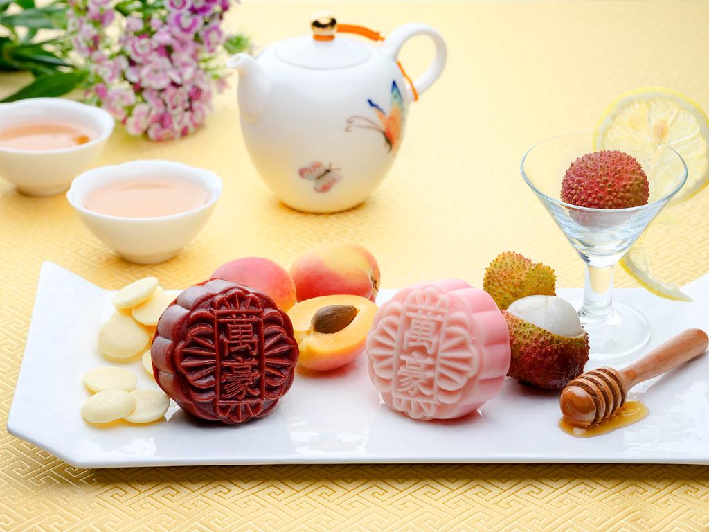 新加坡万豪唐广场酒店-白巧克力杏仁蜂蜜柠檬荷花酱荔枝马提尼松露
