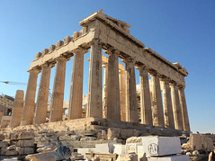 Parthenon backside