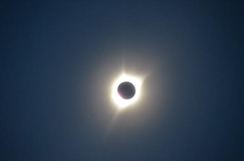 Shoshoni the sun in eclipse