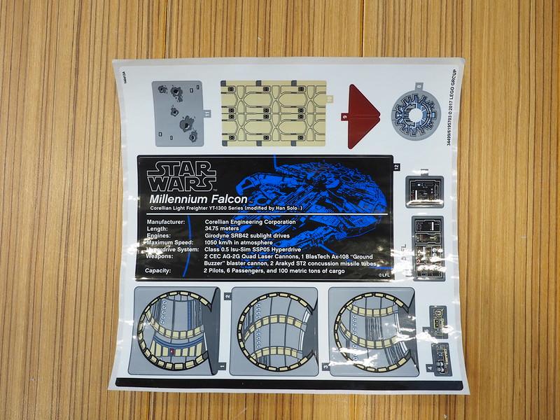 LEGO Star Wars UCS Millennium Falcon (75192) Unboxing