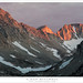 Alpenglow, Ridge and Valley by G Dan Mitchell