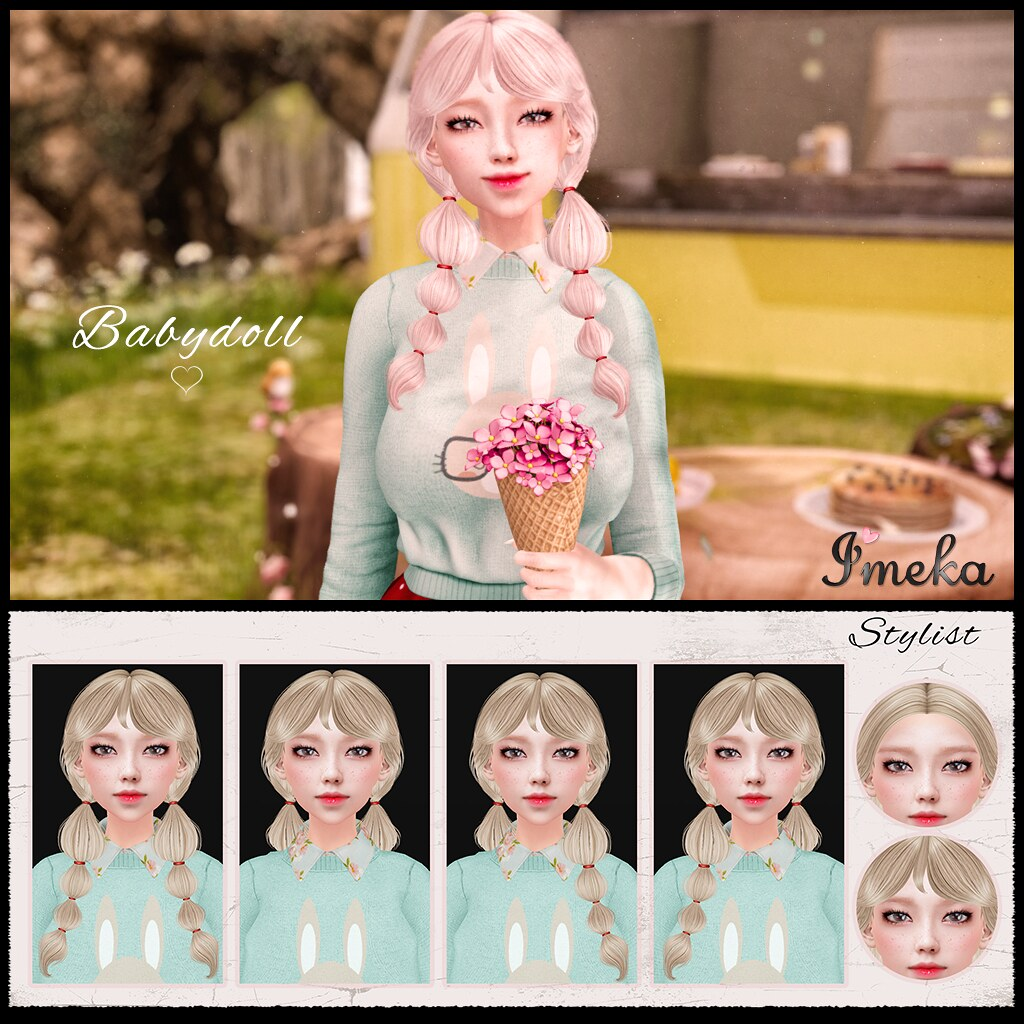 {Imeka} Babydoll Hair @ The Kawaii Project - TeleportHub.com Live!