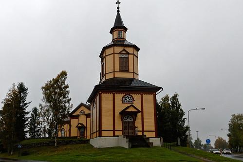 suomi finland dxo filmpack aikamatkaajat kannus kirkko church kannuksenkirkko