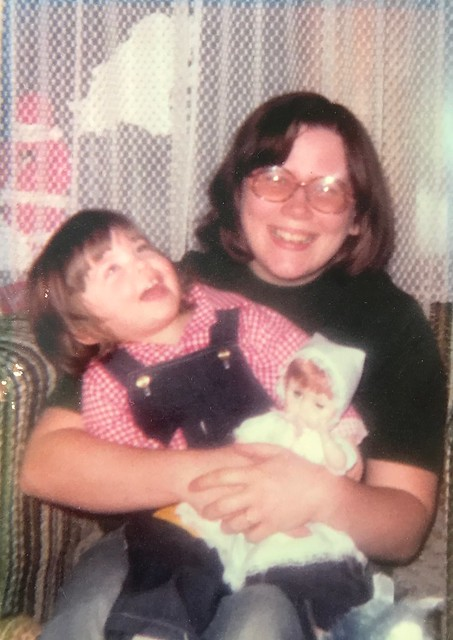 My favorite picture of mom and me.
