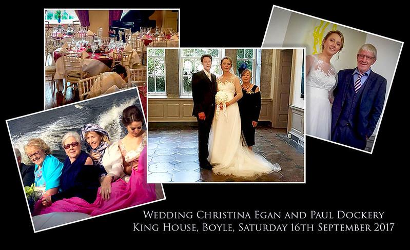 Wedding Christina Egan & Paul Dockery