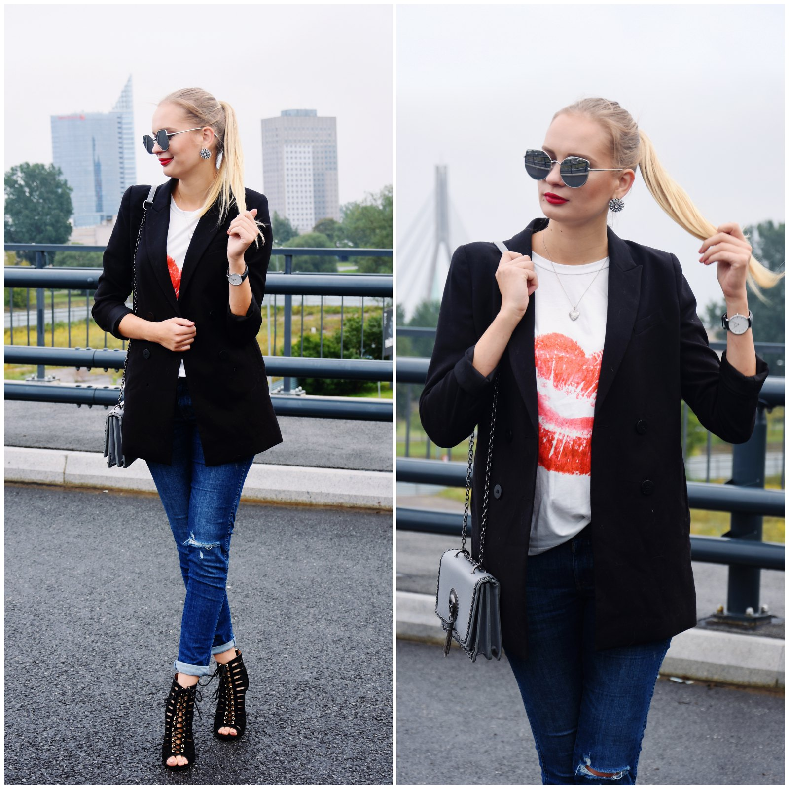 Lip print outfit inspiration