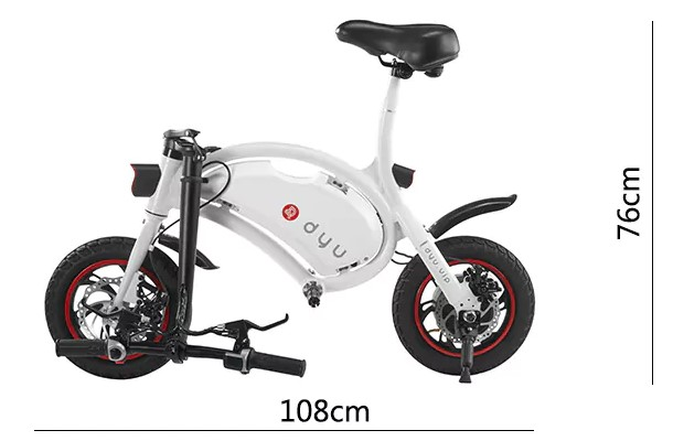 F - wheel DYU Electric Bike04