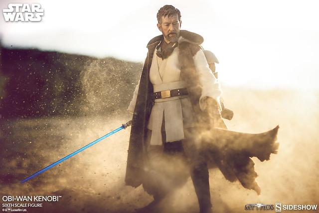 自我流放於沙海當中的絕地武士!!Sideshow Collectibles 星際大戰【歐比王·肯諾比】Star Wars Obi-Wan Kenobi 1/6 比例人偶作品