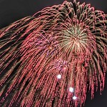 """Concussion waves from 16"""" shell, National Fireworks Association 2017 Convention Public Display"""