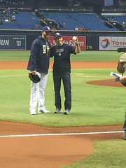 Episcopal Florida posted a photo:	Boston Red Sox and Tampa Rays on Sept. 15, 2017. Photo Mary Wallis Smith