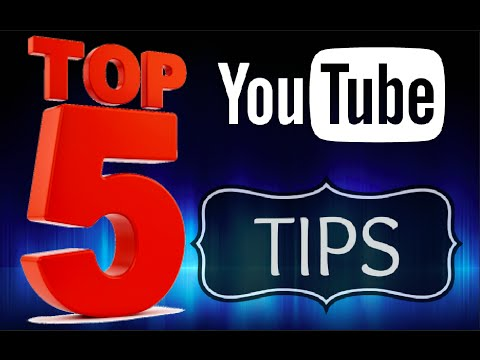 93Top 5 YouTube Channel Tips