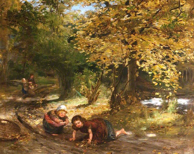 Autumn Leaves by William McTaggart (1835 - 1910)