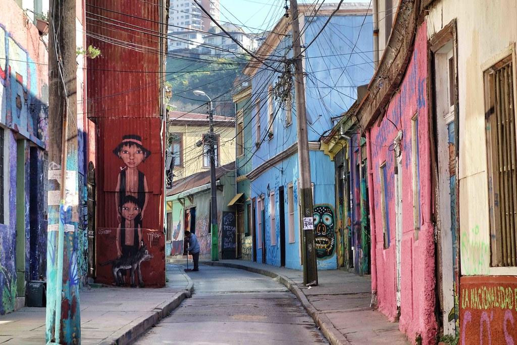 Valparaiso - Street Art - Atahualpa