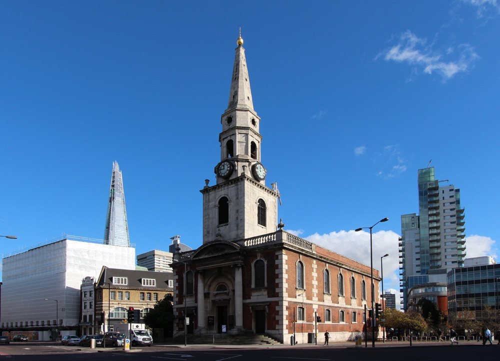 LONDON, SOUTHWARK, St George the Martyr with St Alphege and St Jude