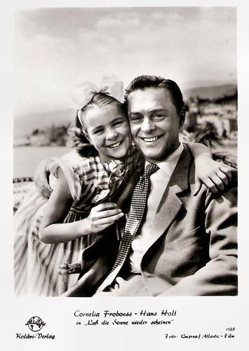Conny Froboess and Hans Holt in Lass die Sonne Wieder Scheinen (1955)