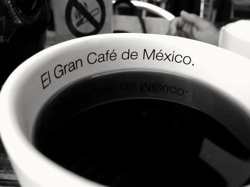 El gran café de México.