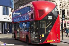 Wrightbus NRM NBFL - LTZ 1213 - LT213 - Clapton Pond 38 - Arriva - London 2017 - Steven Gray - IMG_6084