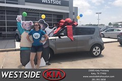 #HappyBirthday to Lindsey from Dennis Celespara at Westside Kia!