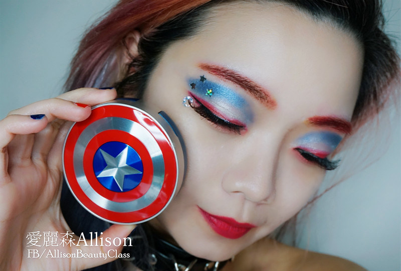 the face shop漫威聯名彩妝開箱|marvel makeup