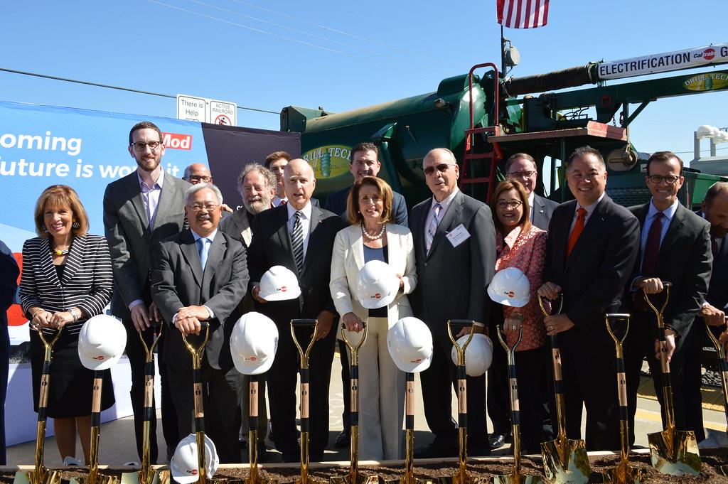 Caltrain Electrification Groundbreaking