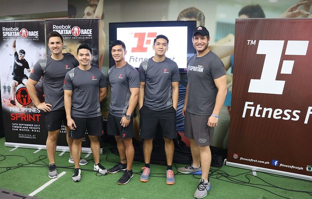 Spartan SGX Launch - Eric Seegers and Mike Reyes with Spartan SGX Coaches
