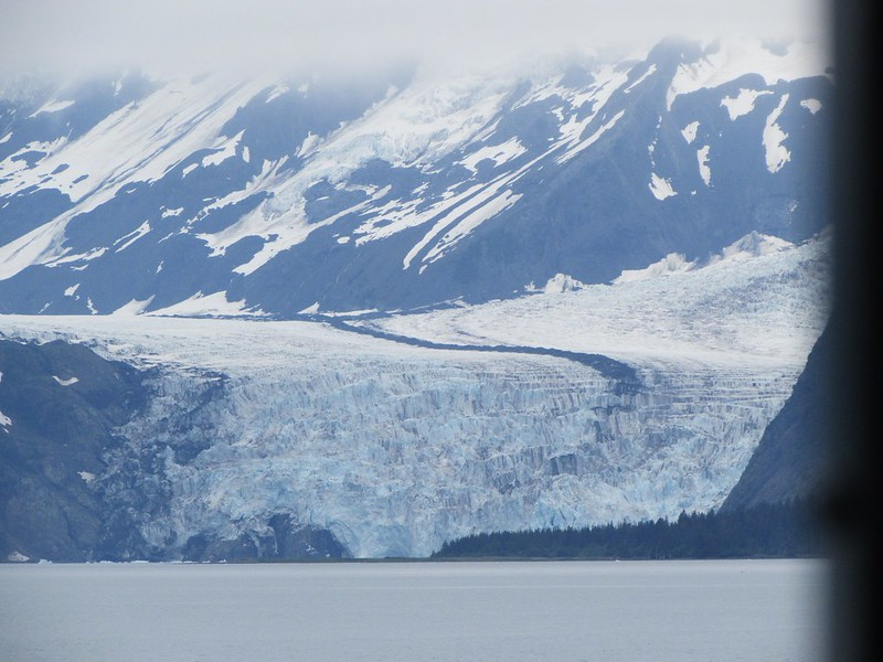 Another huge glacier with a prominent medial moraine