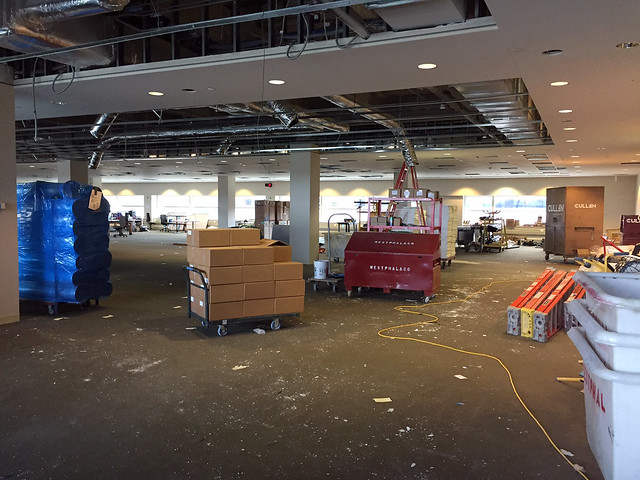 University of Wisconsin - Madison Health Sciences Learning Center Construction Progress