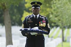 U.S. Army Sgt. Willie Rowe Korea Repatriation at Arlington National Cemetery
