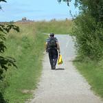 Straight walkway in Preston