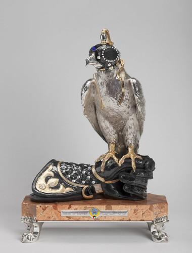 Statuette of a Falcon