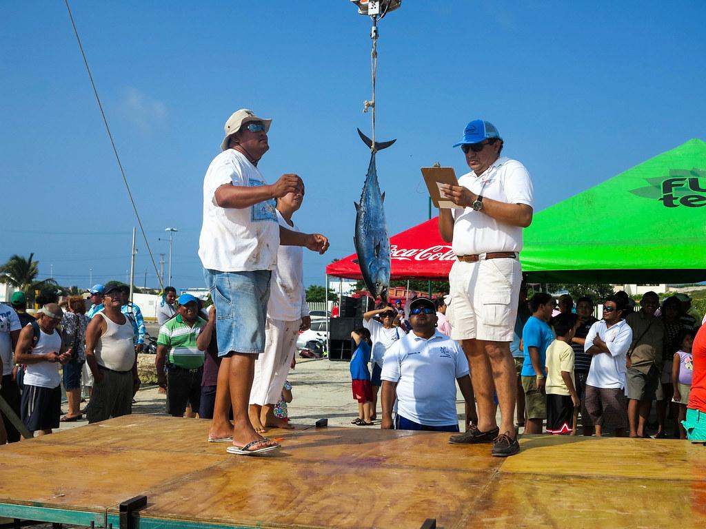 Pesca cerca de Cancún
