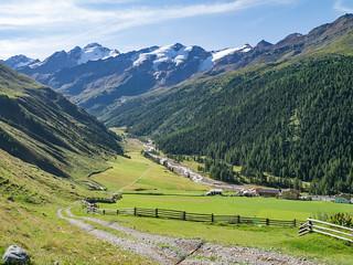 Langtauferer Tal, Melag, Karlinbach, Ötztaler Alpen