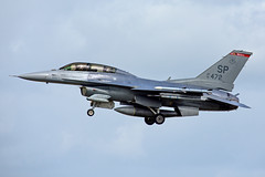 91-0472 US Air Force Lockheed Martin F-16DJ Fighting Falcon RAF Lakenheath