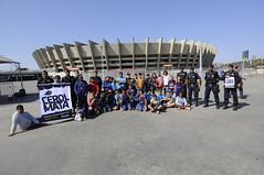 """22/08/2017. Guarda Municipal de Belo Horizonte promove na esplanada do Mineirão """"Dia de Brincar"""": Empinando Pipas com segurança. Fotos: Rodrigo Clemente/PBH."""