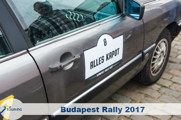 Touring Budapest Rally 2017