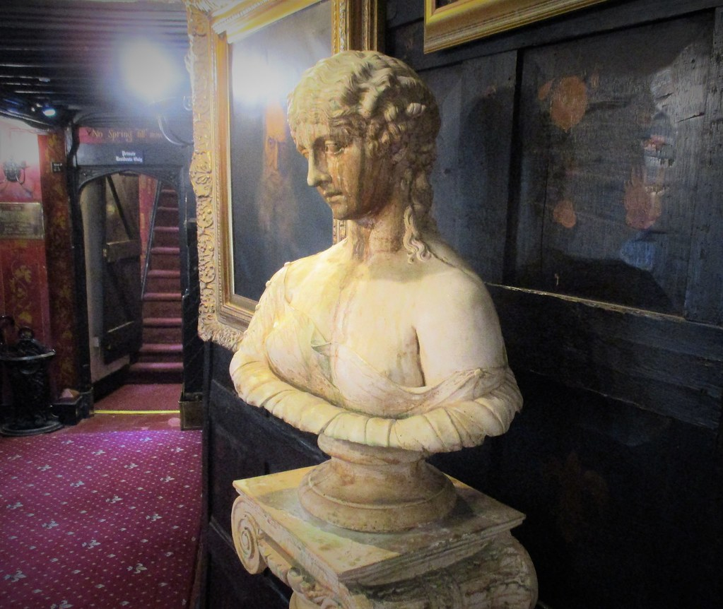 Bust in The Mermaid Inn, Rye
