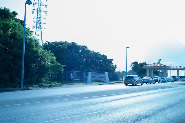 ゲート通りの先。コザ Koza, Okinawa, 08 Aug 2017 -00142