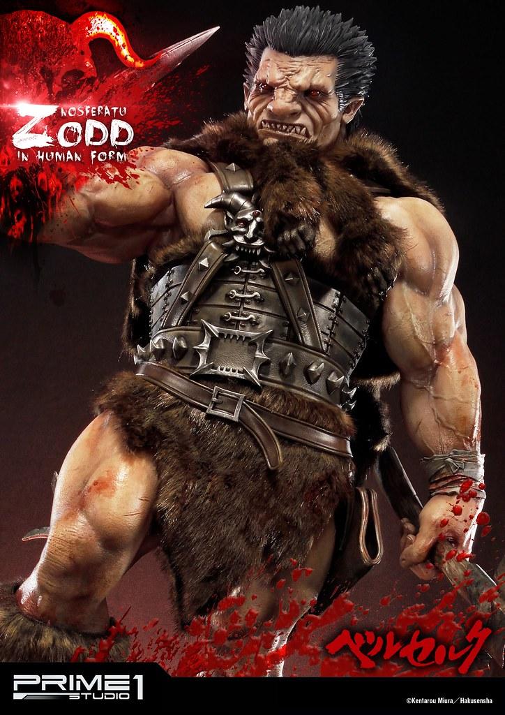 鷹之團登場!!Prime 1 Studio 烙印勇士系列【不死的索特】不死のゾッド Nosferatu Zodd 全身雕像作品