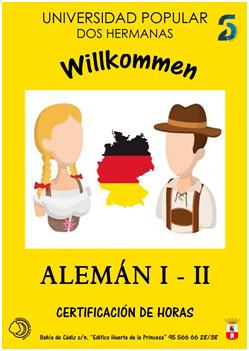 unversidad popular cartel de alemán