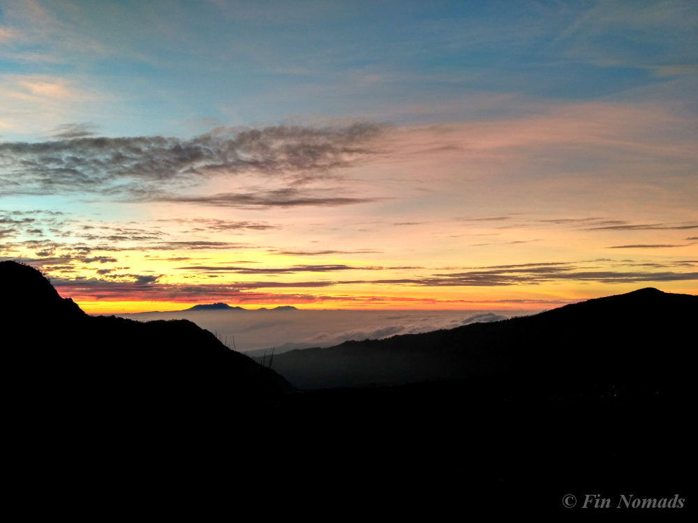 bromo hike sunrise