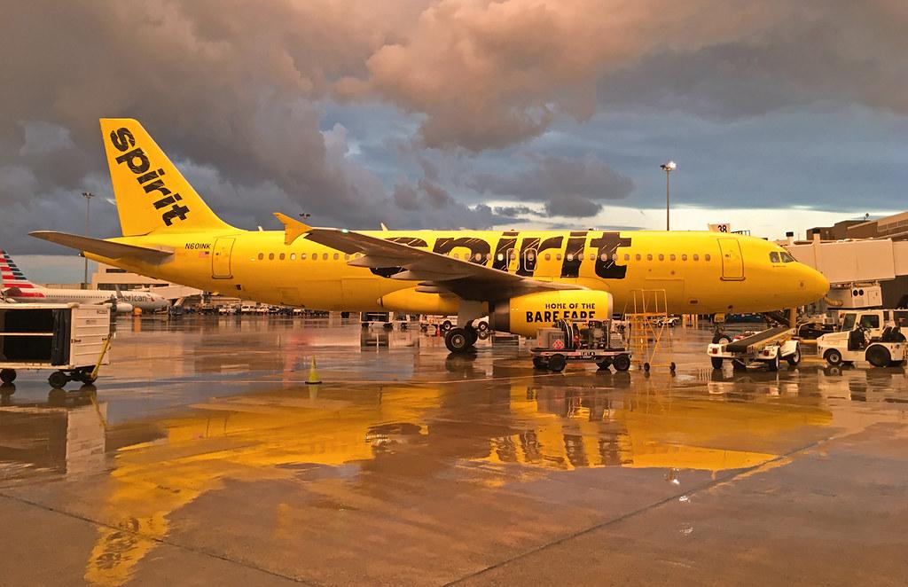 N601NK Spirit A320