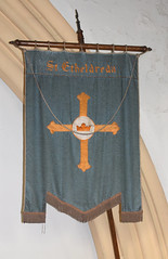 banner from the lost church of St Etheldreda, Ipswich