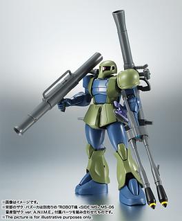 引發大革新的獨眼巨人!ROBOT魂<SIDE MS>《機動戰士鋼彈》MS-05 薩克I(舊薩克)旧ザク ver. A.N.I.M.E.