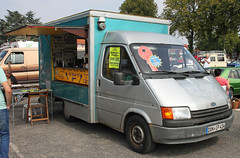 Transit market van