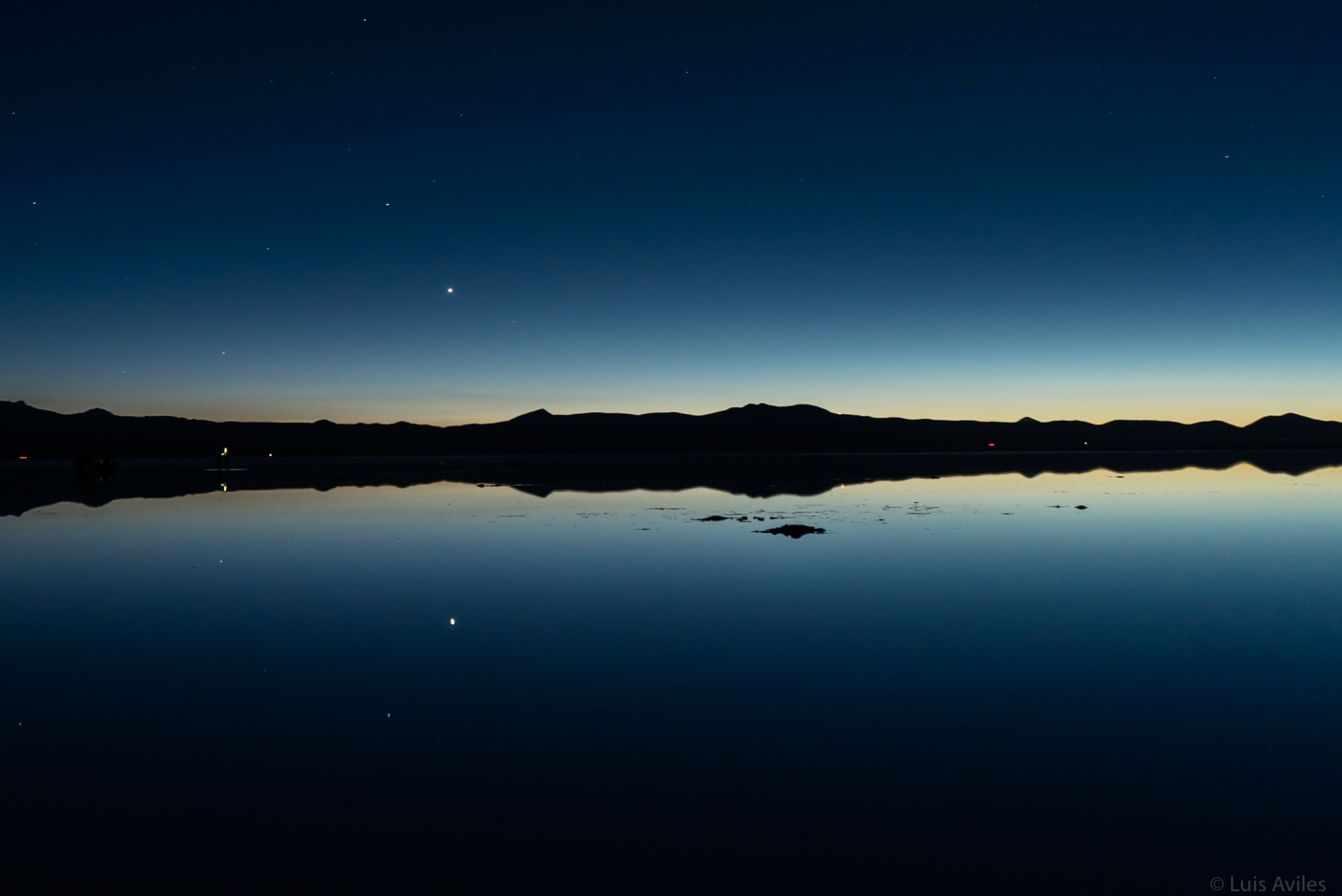 Venus Planet Before Sunrise